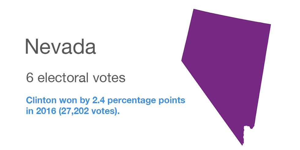 Nevada vote data
