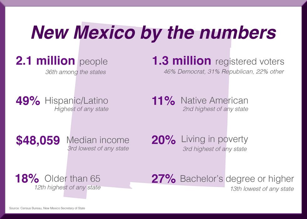 New Mexico demographics